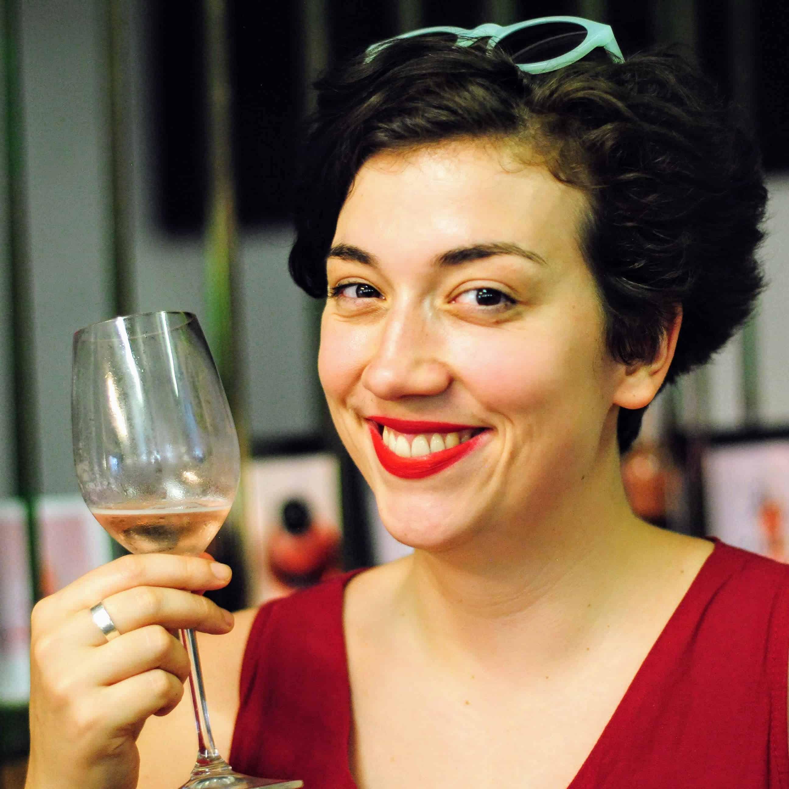 Ich bin Valerie. Und ich trinke Wein!